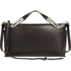LOEWE Missy Lambskin Leather Shoulder Bag